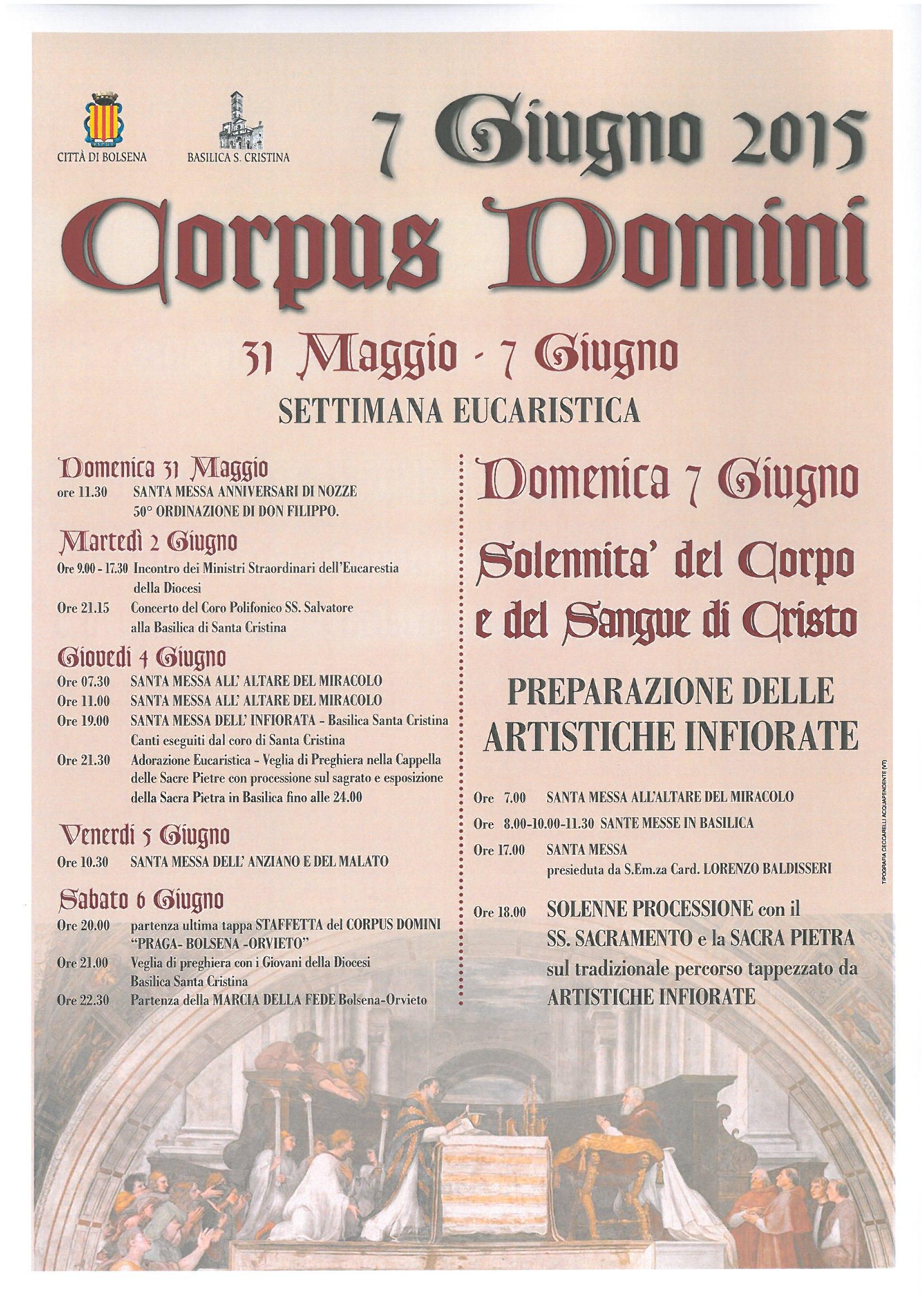 corpus domini | visit bolsena - turismo eventi itinerari lago ... - Soggiorno Lago Di Bolsena